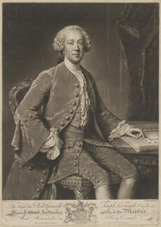 Richard Grenville-Temple, 2nd Earl Temple, by and published by Richard Houston, after  William Hoare, circa 1757-1760 - NPG D40504 - © National Portrait Gallery, London