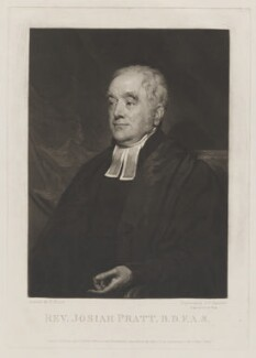 Josiah Pratt, by Samuel William Reynolds, published by  Dobbs & Co, after  Henry Wyatt - NPG D40486