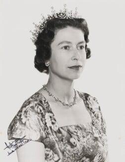 Queen Elizabeth II, by Anthony Buckley - NPG P1506