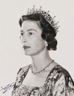 Queen Elizabeth II, by Anthony Buckley - NPG P1507
