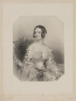 Laura Caroline Jane Chichester (née Paget), Lady Templemore, by William Henry Egleton, after  Sir George Hayter - NPG D40512