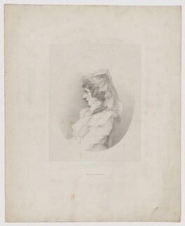 Amelia Anne Stewart (née Hobart), Marchioness of Londonderry (Lady Castlereagh), by Richard James Lane, printed by  Graf & Soret - NPG D40487