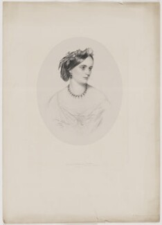Victoria Elizabeth Chichester (née Ashley), Lady Templemore, by James Rannie Swinton - NPG D40513