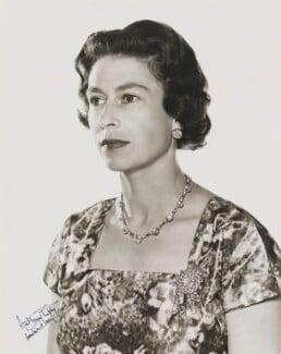 Queen Elizabeth II, by Anthony Buckley - NPG P1509