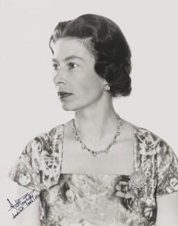 Queen Elizabeth II, by Anthony Buckley - NPG P1510