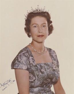 Queen Elizabeth II, by Anthony Buckley - NPG P1511