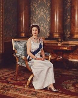 Queen Elizabeth II, by Anthony Buckley - NPG P1513