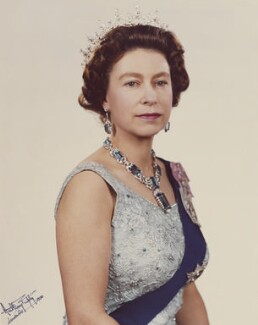 Queen Elizabeth II, by Anthony Buckley - NPG P1516