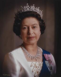 Queen Elizabeth II, by Dennis Constantine - NPG P1524
