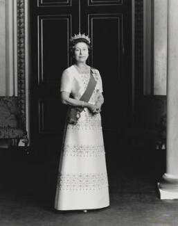 Queen Elizabeth II, by Dennis Constantine - NPG P1528