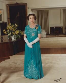 Queen Elizabeth II, by John Crowther - NPG P1533