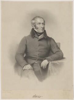 Alexander Fraser, 16th Baron Saltoun, by Charles Baugniet, printed by  M & N Hanhart - NPG D40048