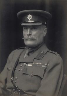 Sir Douglas Frederick Rawdon Dawson, by Walter Stoneman - NPG x167039