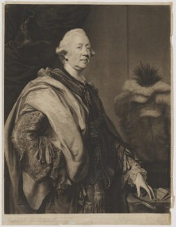 Richard Grenville-Temple, 2nd Earl Temple, by William Dickinson, after  Sir Joshua Reynolds - NPG D40506