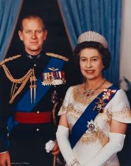 Queen Elizabeth II, by John Evans - NPG P1537