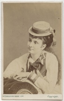 Edith Challis, by London Stereoscopic & Photographic Company - NPG x134721