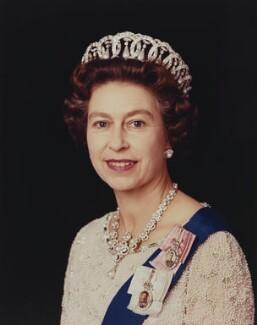 Queen Elizabeth II, by Peter Grugeon - NPG P1551