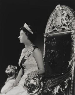 Queen Elizabeth II, by Yousuf Karsh - NPG P1559