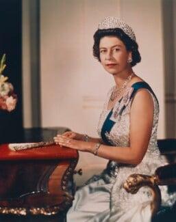 Queen Elizabeth II, by Yousuf Karsh - NPG P1560