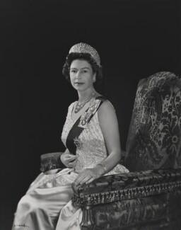 Queen Elizabeth II, by Yousuf Karsh - NPG P1561