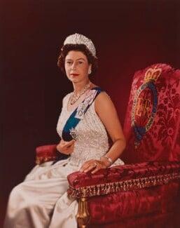Queen Elizabeth II, by Yousuf Karsh - NPG P1562