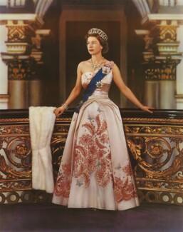 Queen Elizabeth II, by Donald McKague - NPG P1583