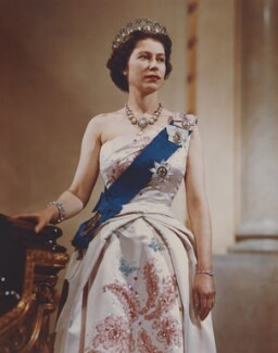 Queen Elizabeth II, by Donald McKague - NPG P1584