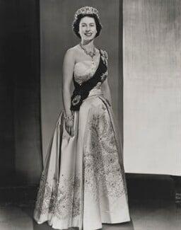 Queen Elizabeth II, by Donald McKague - NPG P1585