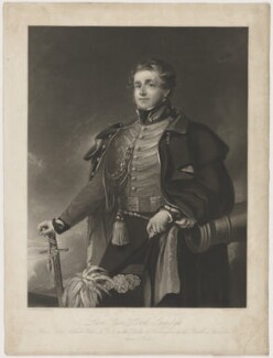 Arthur Moyses William Hill, 2nd Baron Sandys, by Samuel Bellin, after  Matthew Shepperson - NPG D40546