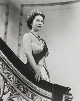 Queen Elizabeth II, by Donald McKague - NPG P1586