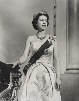 Queen Elizabeth II, by Donald McKague - NPG P1587