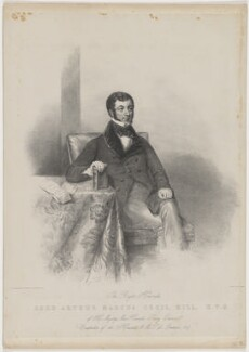 Arthur Marcus Cecil Sandys, 3rd Baron Sandys, by Maxim Gauci, after  James Holmes - NPG D40547