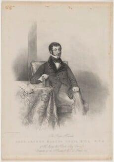 Arthur Marcus Cecil Sandys, 3rd Baron Sandys, by Maxim Gauci, after  James Holmes, 1847 - NPG D40547 - © National Portrait Gallery, London