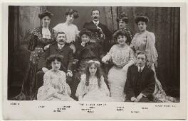 The Lloyd Family, published by Rotary Photographic Co Ltd - NPG Ax160174