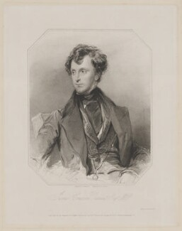 Sir James Emerson Tennent, 1st Bt, by Richard Austin Artlett, published by  Henry Thomas Ryall, published by  James Fraser, published by  Sir Francis Graham Moon, 1st Bt, after  George Richmond - NPG D40519