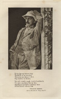J.M. Barrie, by Unknown photographer - NPG x134726