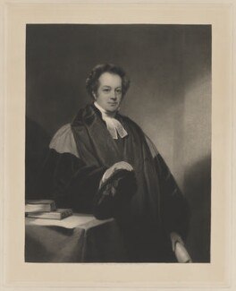 Dr Saunders, by Henry Fowler Walker, published by  James Ryman, after  Thomas Phillips - NPG D40556
