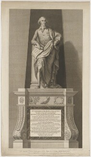 Sir George Savile, 8th Bt, by Francesco Bartolozzi, published by and after  John Fisher - NPG D40559