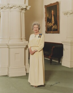 Queen Elizabeth II, by Norman Plant - NPG P1609