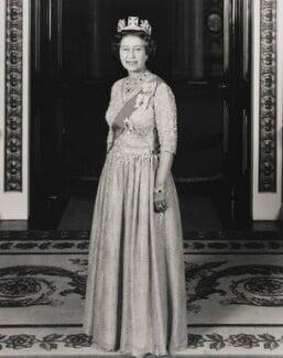 Queen Elizabeth II, by John Tyler, for  Central Office of Information - NPG P1647