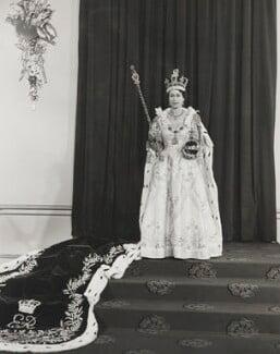 Queen Elizabeth II, by Unknown photographer - NPG P1654