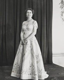 Queen Elizabeth II, by Unknown photographer - NPG P1655