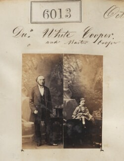 William White Cooper; Master Cooper, by Camille Silvy - NPG Ax55967