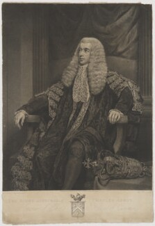 Charles Abbott, 1st Baron Tenterden, by and published by Charles Picart, after  James Northcote - NPG D40528