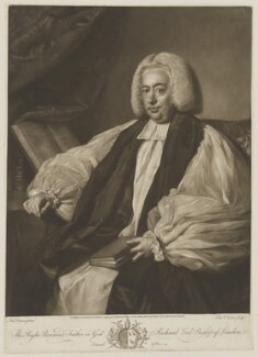 Richard Terrick, by and published by Edward Fisher, after  Nathaniel Dance (later Sir Nathaniel Holland, Bt) - NPG D40529