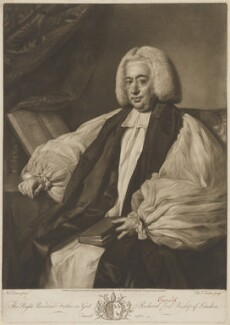 Richard Terrick, by and published by Edward Fisher, after  Nathaniel Dance (later Sir Nathaniel Holland, Bt) - NPG D40530