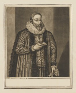Thomas Tesdale, by John Faber Sr, after  Unknown artist - NPG D40532