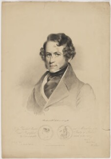 Sir Robert Hermann Schomburgk, by Maxim Gauci, printed and published by  Paul Gauci, after  Eden Upton Eddis - NPG D40577
