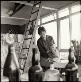 Monica Wynter (née Harman) and her son, Tom Wynter, by Ida Kar - NPG x134746