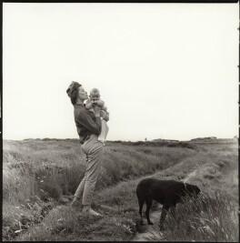 Monica Wynter (née Harman) and her son, Tom Wynter, by Ida Kar - NPG x134747